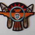 Native American Thunderbird Arrows Biker Patch -