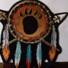 NATIVE AMERICAN  DREAMCATCHER FEATHERS AND ARROW HEADS BIKER PATCH