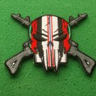 ENDURING FREEDOM SKULL AND RIFLES PATCH
