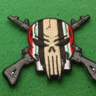 DESERT STORM SKULL AND RIFLES PATCH