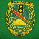 8TH TANK BATTALION PATCH