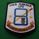 USS DUBUQUE LPD-8 SHIP PATCH
