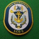 USS Milwaukee LCS-5 Ship Patch
