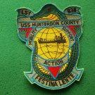 USS Hunterdon County LST-838 Ship Patch