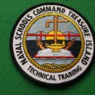 Naval Schools Command NSC Treasure Island Patch