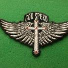 GOD SPEED BIKER PATCH
