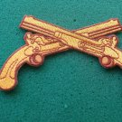 Military Police Crossed Pistols Patch