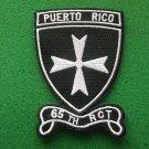 65th RCT Patch Regimental Combat Team Puerto Rico