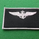 NAVAL AVIATION PILOT SILVER WINGS PATCH