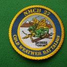 NMCB 27 COLD WEATHER BATTLION PATCH