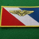 VF-2 BOUNTY HUNTERS NAVAL FLIGHT OFFICER NAME TAG PATCH