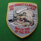 USS Everett F Larson DD-830 Ship Patch