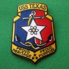 USS TEXAS CGN-39 SHIP PATCH