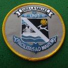 USS LA SALLE LPD-3 SHIP PATCH