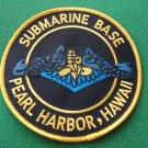 SUBMARINE BASE PEARL HARBOR HAWAII PATCH
