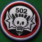502ND AIRBORNE INFANTRY REGIMENT PATCH
