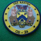 USS REEVES CG-24 SHIP PATCH
