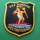 USS RUPERTUS DD-851 SHIP PATCH