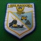 USS MADDOX DD731 SHIP PATCH