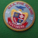 USS PINE ISLAND AV-12 SHIP PATCH