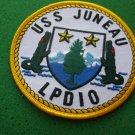 USS JUNEAU LPD-10 SHIP PATCH