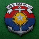 USS EL PASO LKA-117 SHIP PATCH