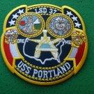 USS PORTLAND LSD-37 PATCH