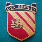 USS GRIDLEY CG-21 PATCH