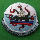 USS RECOVERY ARS-43 SHIP PATCH