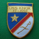 USS KNOX FF-1052 SHIP PATCH