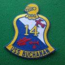 USS BUCHANAN DDG-14 SHIP PATCH