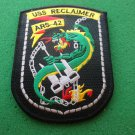 USS RECLAIMER ARS-42 SHIP PATCH
