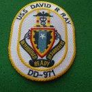 USS DAVID R RAY DD-971 SHIP PATCH