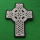 Celtic Design Cross Biker Patch
