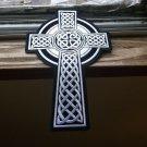 Celtic Cross Large Biker Patch