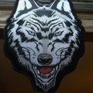 Gray Wolf Biker Patch