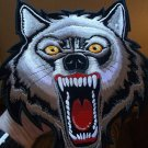 Vicious Wolf Biker Patch
