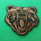 BROWN BEAR BIKER PATCH