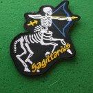 Sagittarius Skull Zodiac Sign Biker Patch