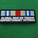 GLOBAL WAR ON TERROR EXPEDITIONARY VETERAN RIBBON PATCH