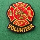 VOLUNTEER FIRE DEPARTMENT PATCH