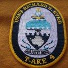 USNS RICHARD E BYRD T-AKE-4 SHIP PATCH