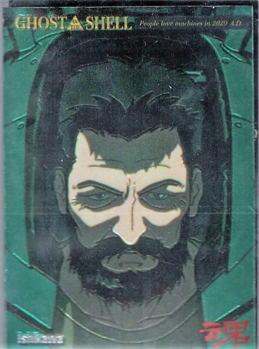 Ghost in the Shell Chromium Card 5