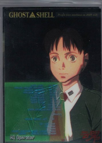 Ghost in the Shell Chromium Card 9