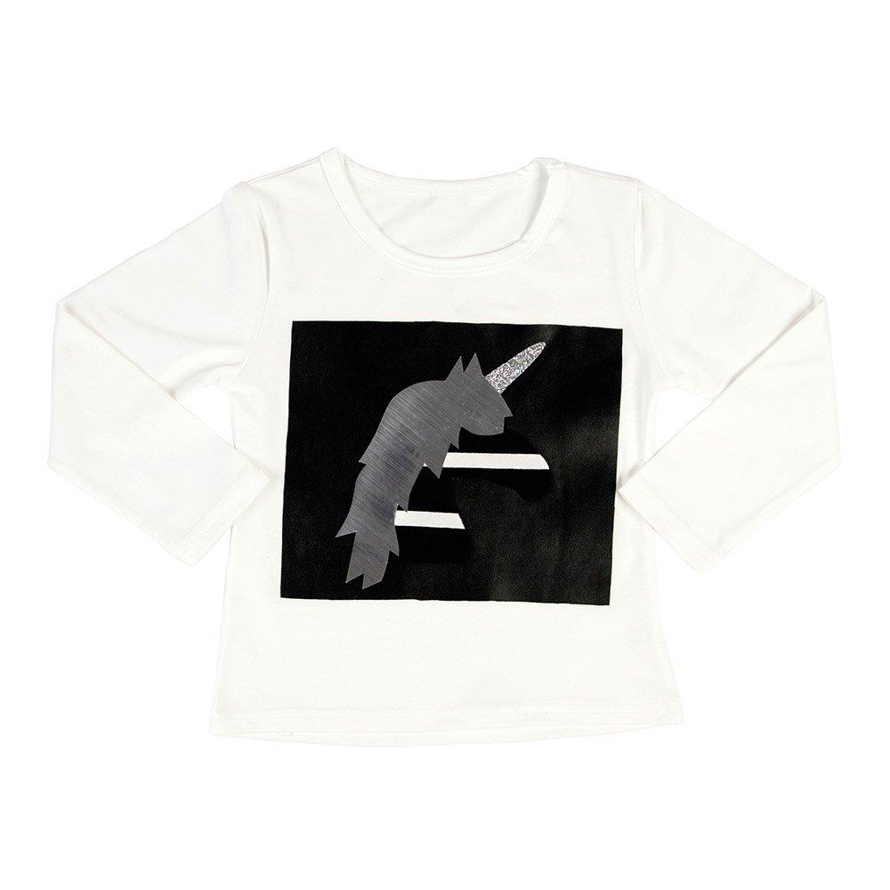 Unicorn Stripe Long Sleeve T-shirt