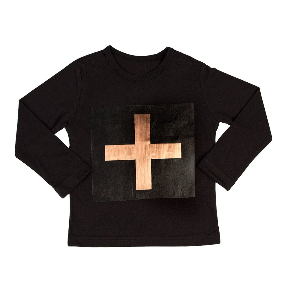 Cross Copper Long Sleeve T-shirt
