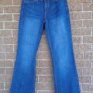 "Size 10 Levi's 526 Slender Boot Cut Women's Blue Jeans 32"" Inseam"