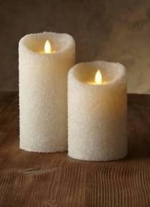 "Luminara® Flameless Candle - 3.5"" Dia. Sugar Pillars - Ivory Unscented 5"" or 7"""