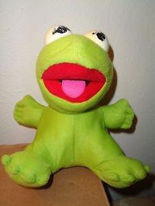 1987 Henson Associates 7 inch Baby Kermit the Frog
