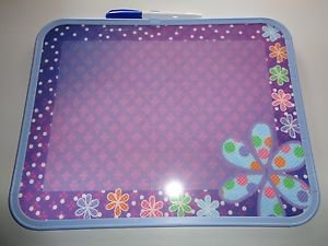 "3D~ Dry Erase Board w/Marker 14"" x 11"" PAISLEY DESIGNS Floral"